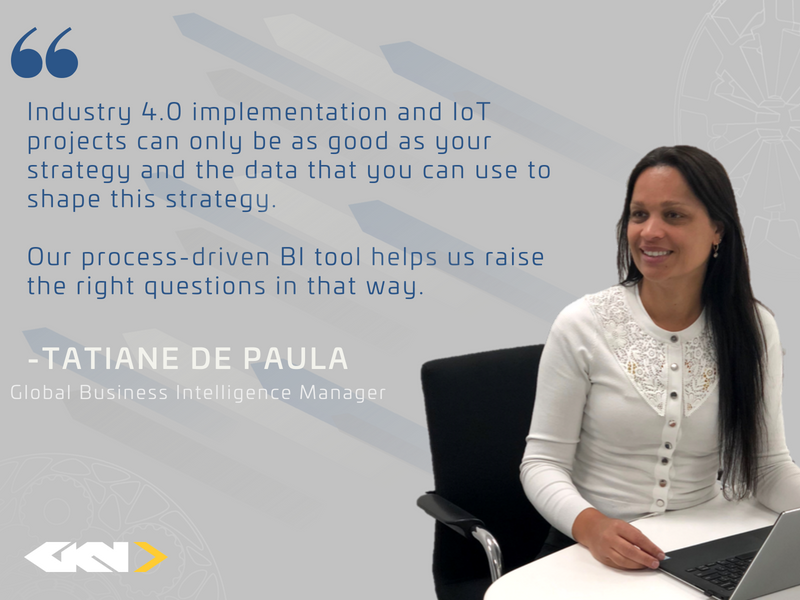 Business Intelligence Manager Tatiane de Paula